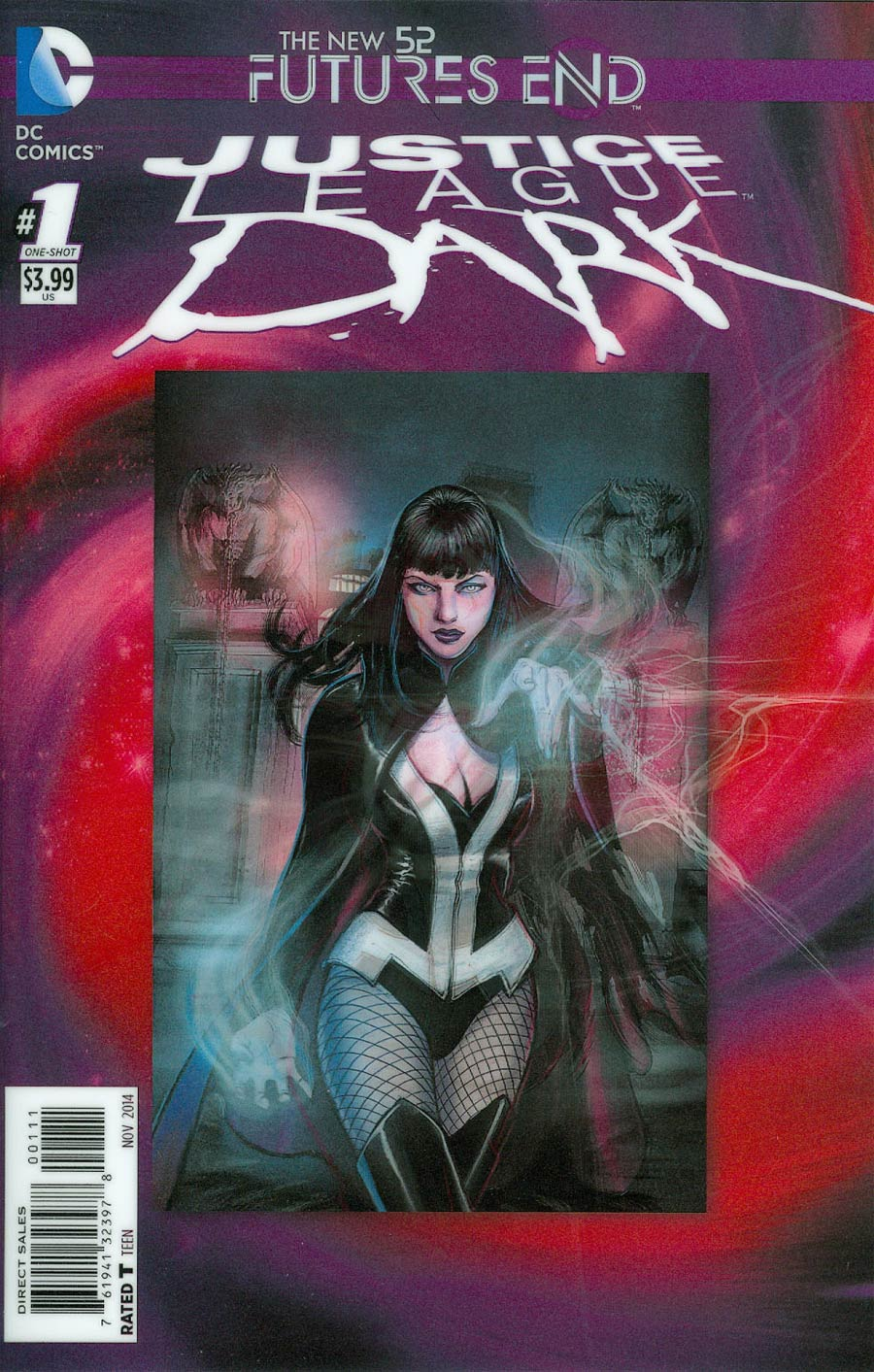 Justice League Dark Futures End #1 Cover A 3D Motion Cover