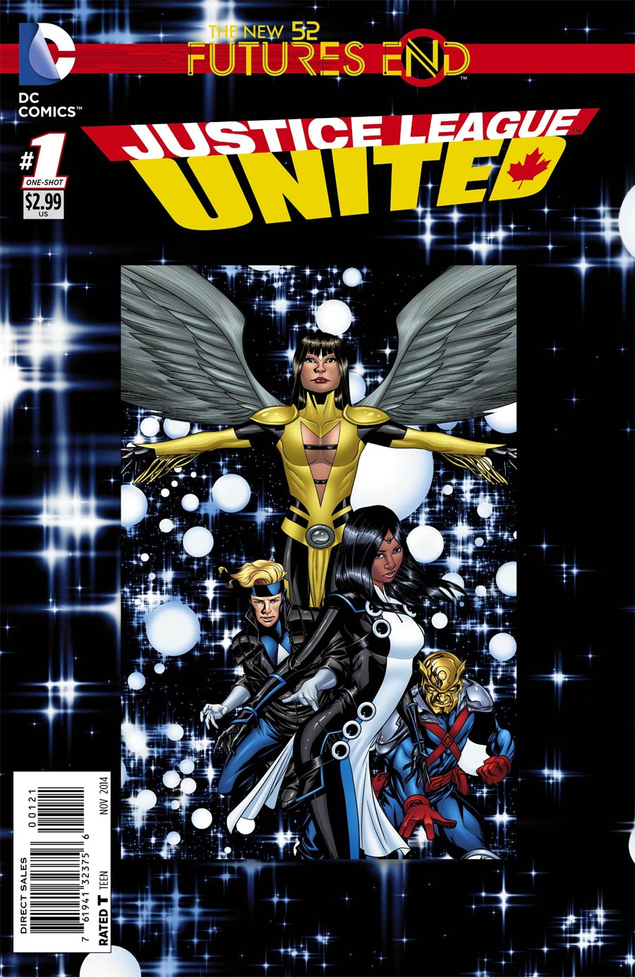 Justice League United Futures End #1 Cover B Standard Cover