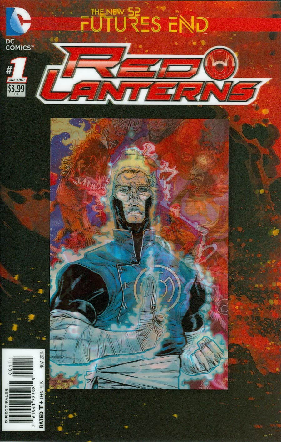 Red Lanterns Futures End #1 Cover A 3D Motion Cover