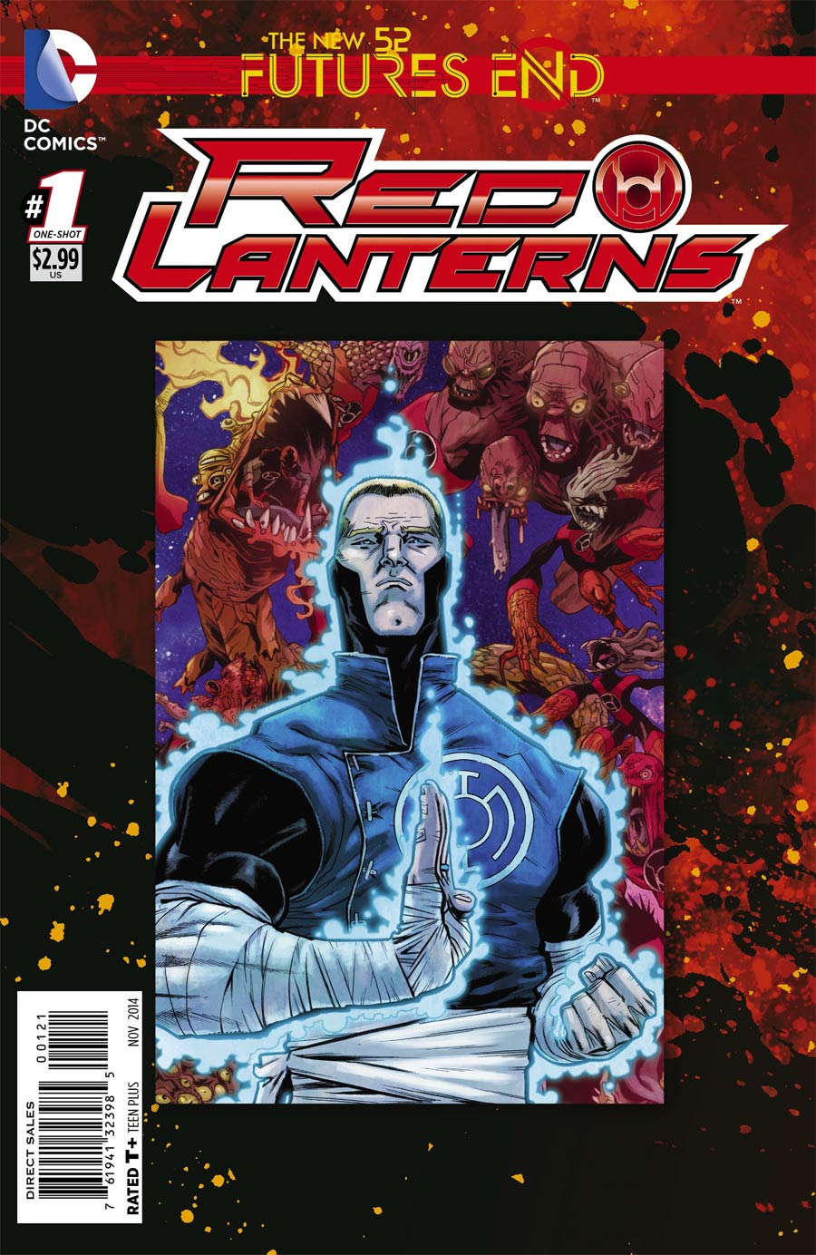 Red Lanterns Futures End #1 Cover B Standard Cover