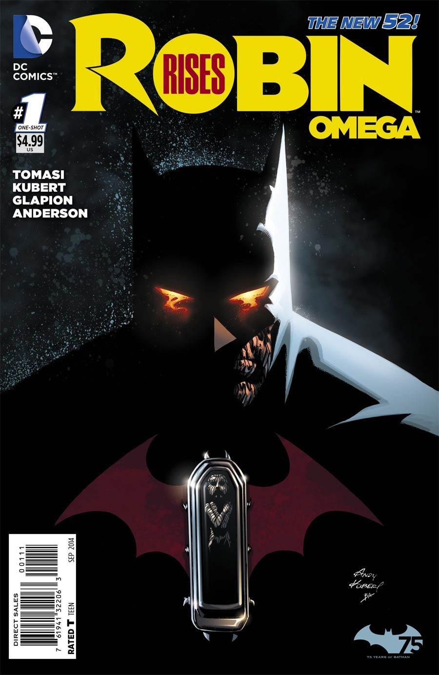 Robin Rises Omega #1 Cover A 1st Ptg Regular Andy Kubert Cover