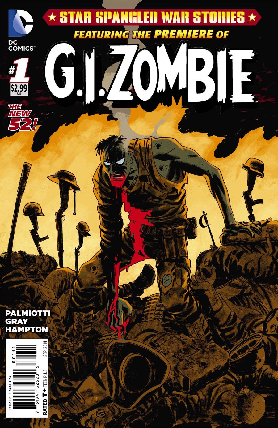 Star-Spangled War Stories Featuring GI Zombie #1 Cover A Regular Howard Porter Cover