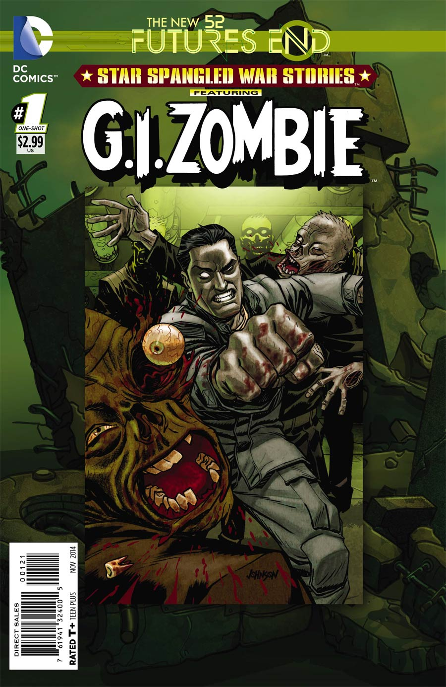Star-Spangled War Stories Featuring GI Zombie Futures End #1 Cover B Standard Cover