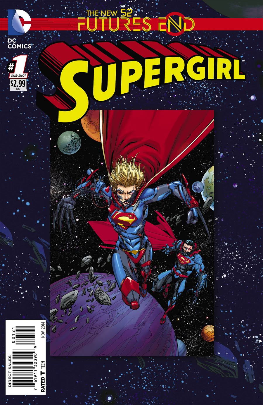 Supergirl Futures End #1 Cover B Standard Cover