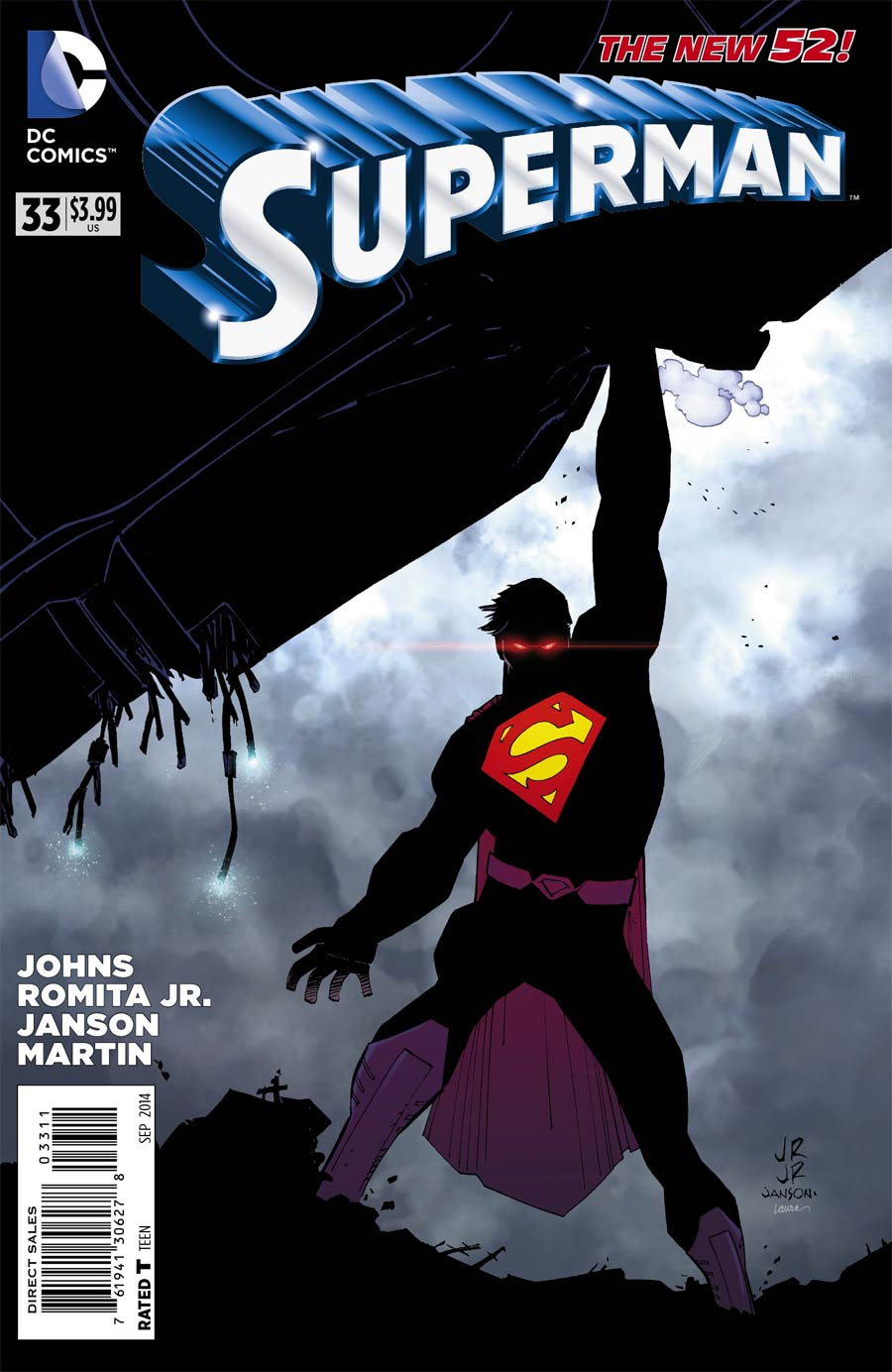 Superman Vol 4 #33 Cover A Regular John Romita Jr Cover