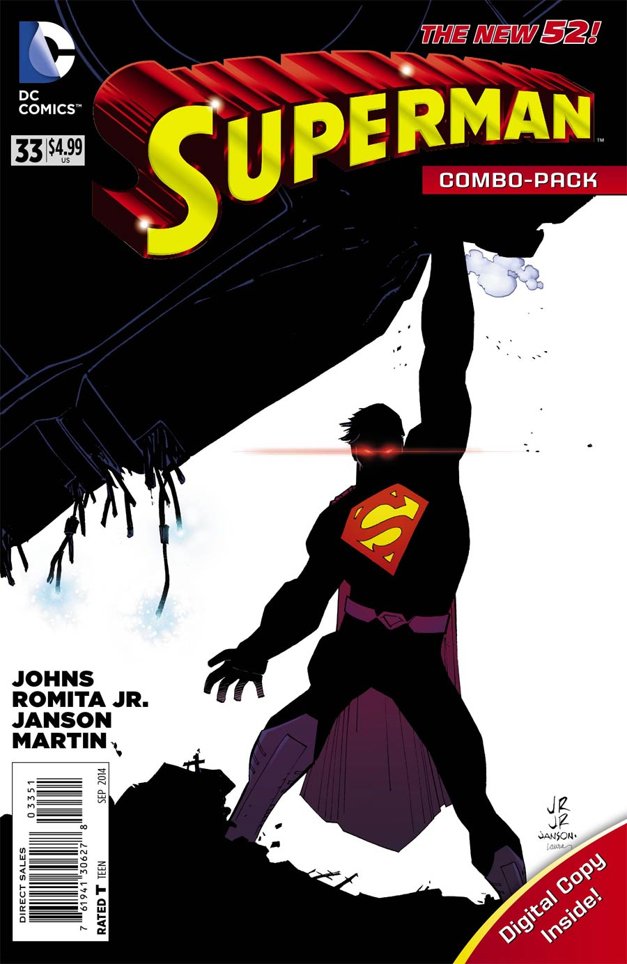Superman Vol 4 #33 Cover C Combo Pack With Polybag