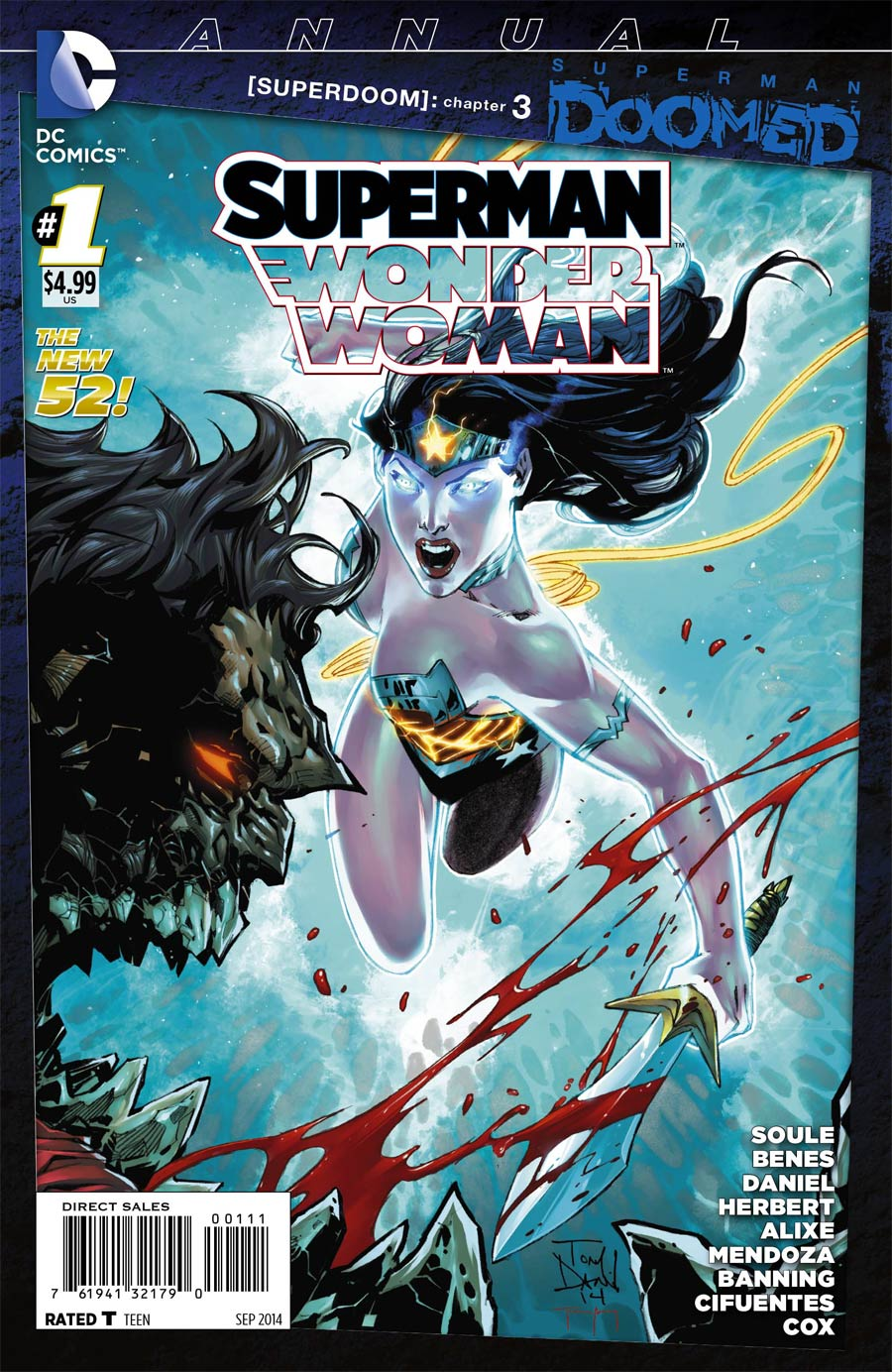 Superman Wonder Woman Annual #1 (Superman Doomed Tie-In)