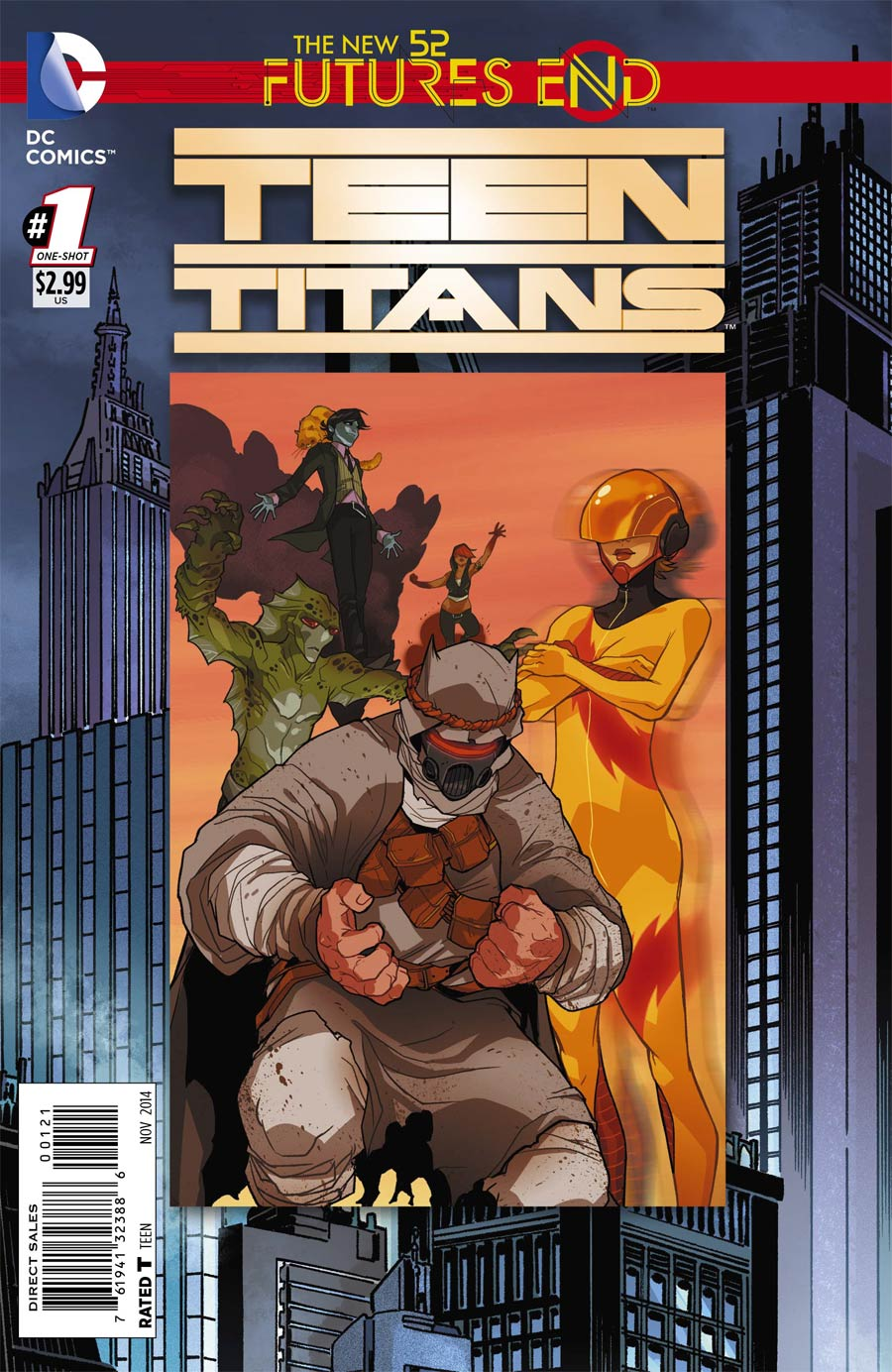 Teen Titans Futures End #1 Cover B Standard Cover