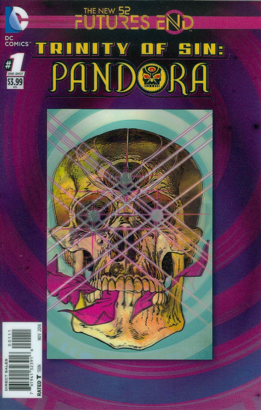 Trinity Of Sin Pandora Futures End #1 Cover A 3D Motion Cover