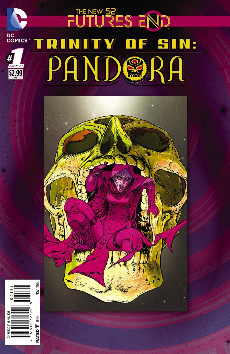Trinity Of Sin Pandora Futures End #1 Cover B Standard Cover