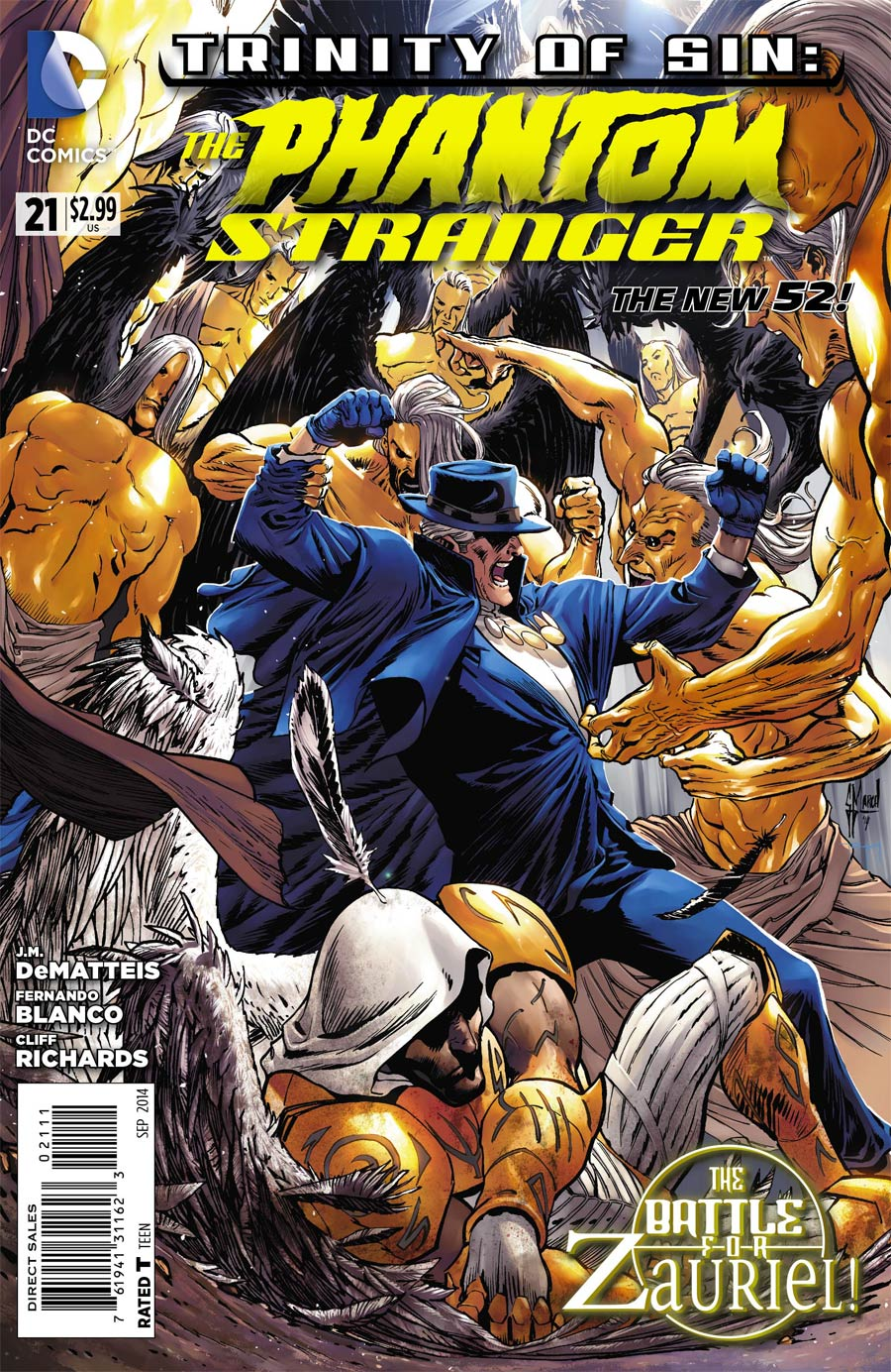 Trinity Of Sin Phantom Stranger #21