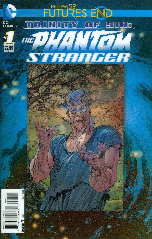 Trinity Of Sin Phantom Stranger Futures End #1 Cover A 3D Motion Cover
