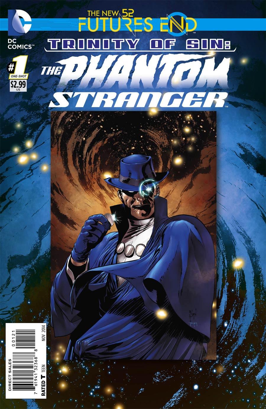 Trinity Of Sin Phantom Stranger Futures End #1 Cover B Standard Cover