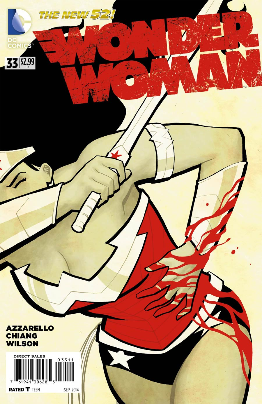 Wonder Woman Vol 4 #33 Cover A Regular Cliff Chiang Cover