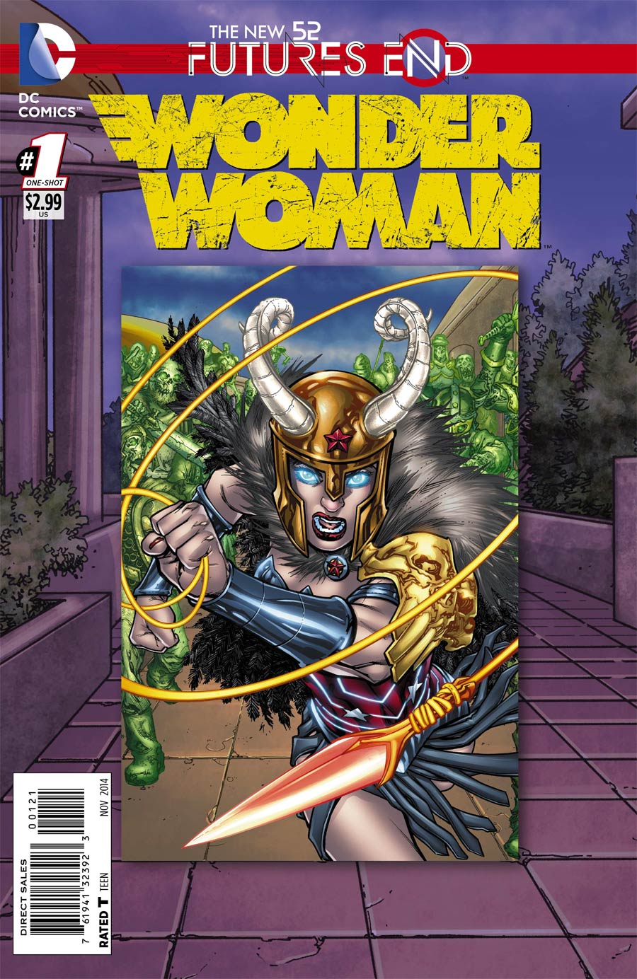 Wonder Woman Futures End #1 Cover B Standard Cover