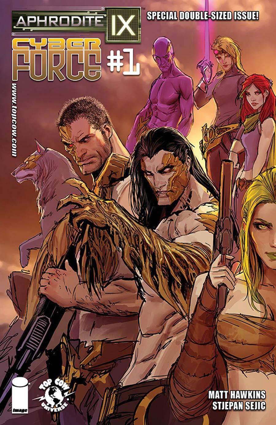 Aphrodite IX Cyberforce #1 Cover A Regular Stjepan Sejic Cover
