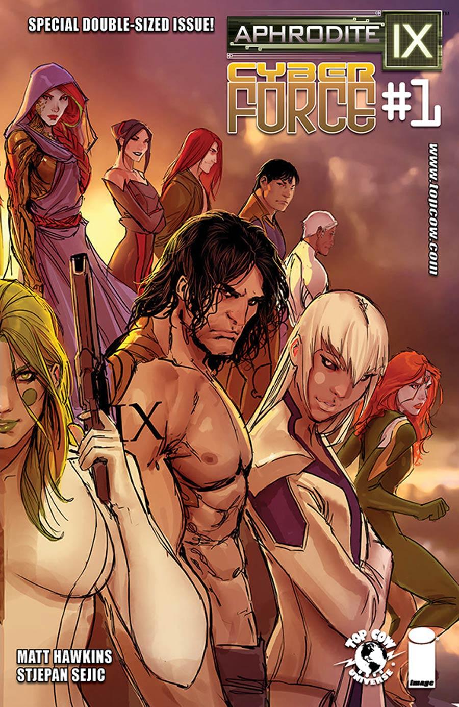 Aphrodite IX Cyberforce #1 Cover B Variant Stjepan Sejic Cover