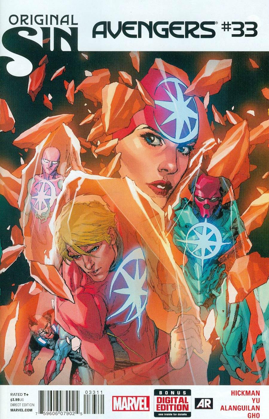 Avengers Vol 5 #33 (Original Sin Tie-In)