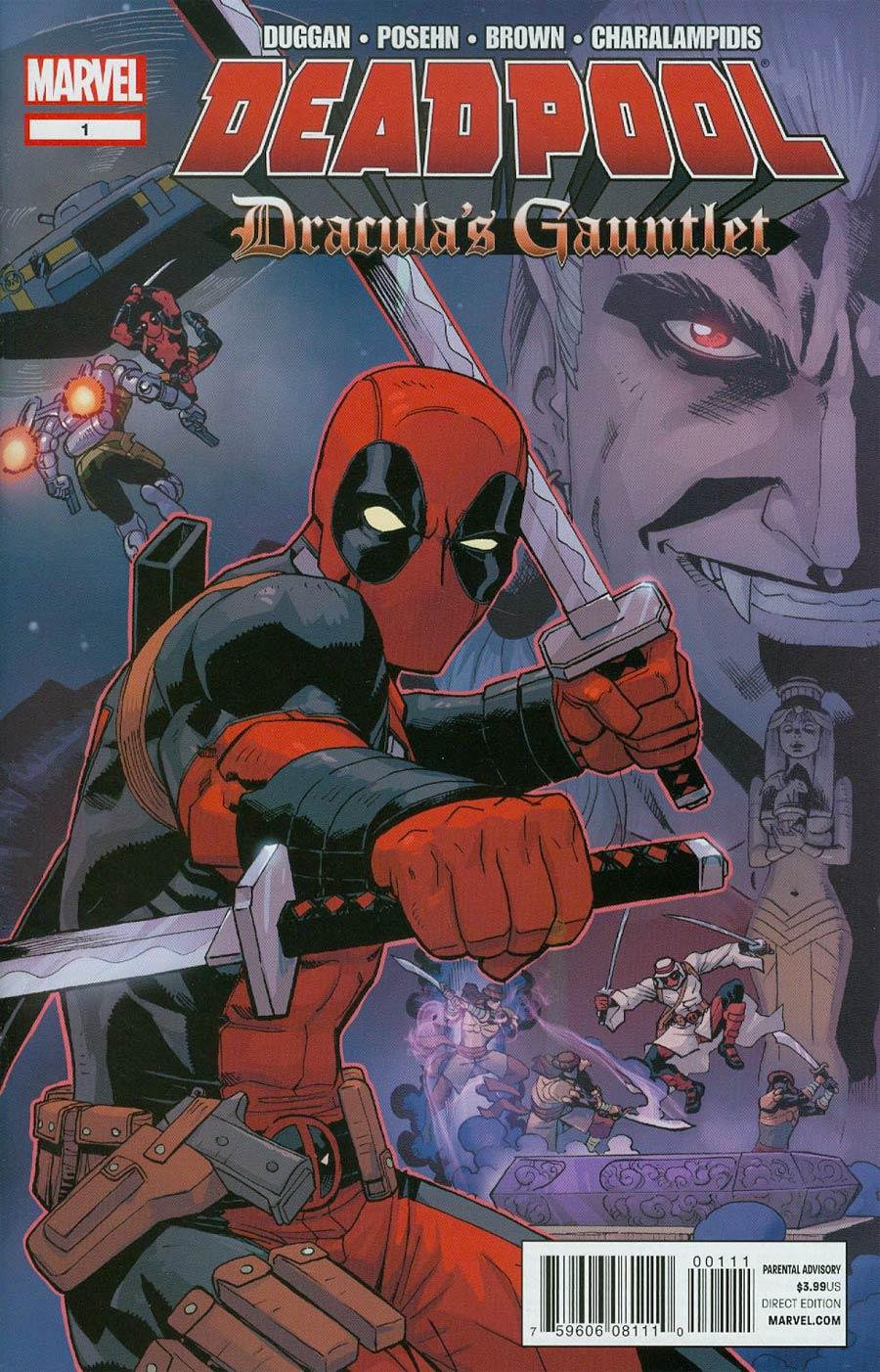 Deadpool Draculas Gauntlet #1