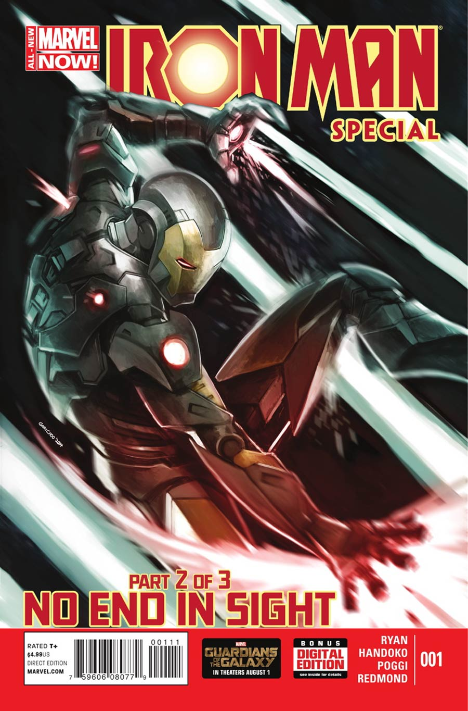 Iron Man Special Vol 2 #1 Cover A Regular Gary Choo Cover