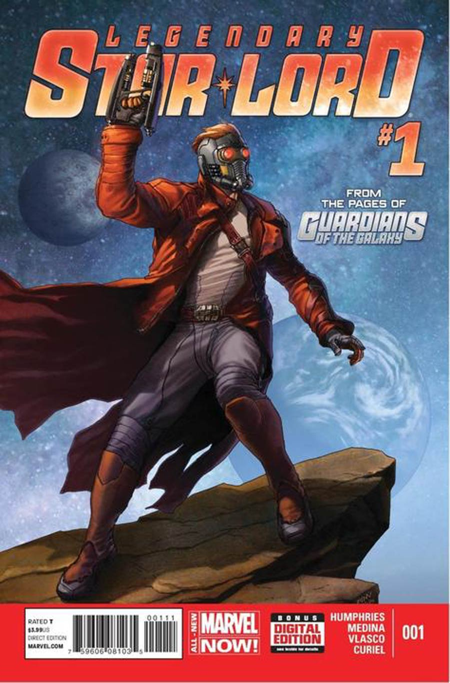 Legendary Star-Lord #1 Cover A 1st Ptg Regular Steve McNiven Cover