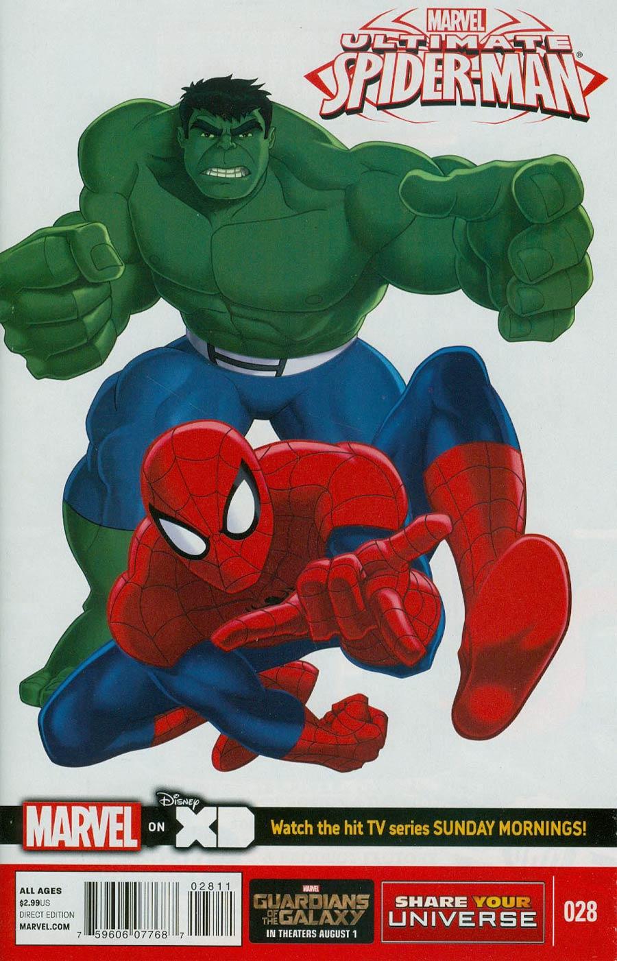 Marvel Universe Ultimate Spider-Man #28