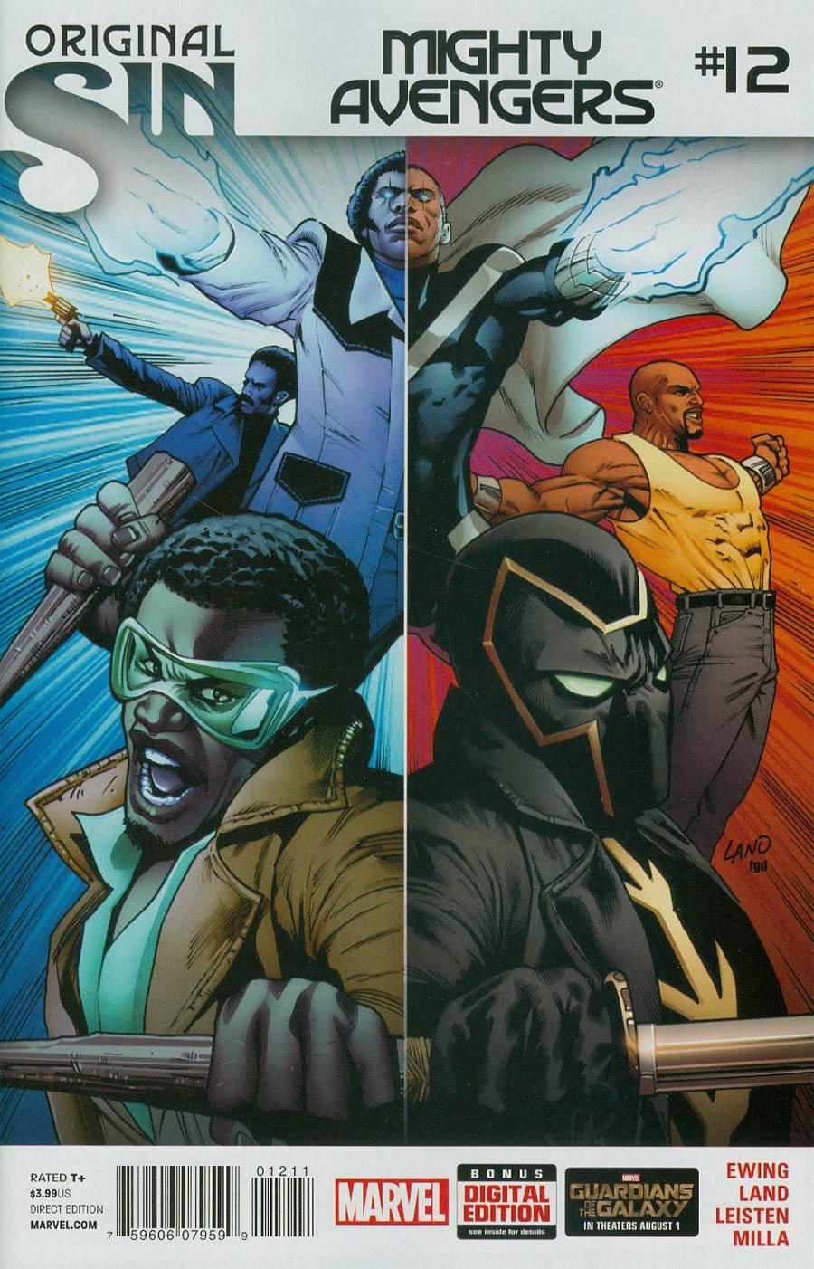 Mighty Avengers Vol 2 #12 (Original Sin Tie-In)