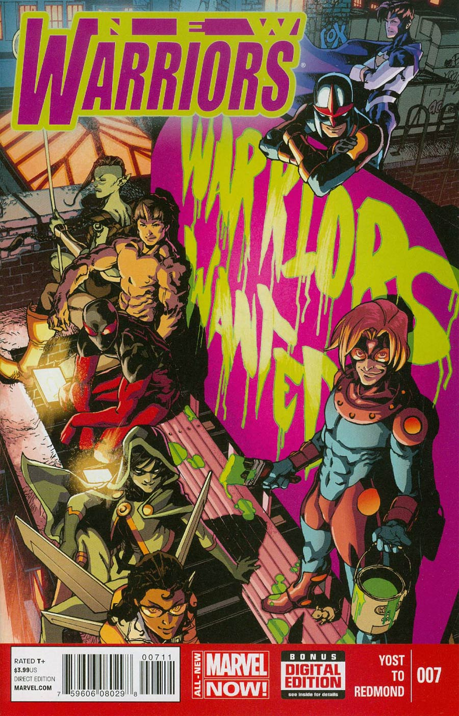 New Warriors Vol 5 #7