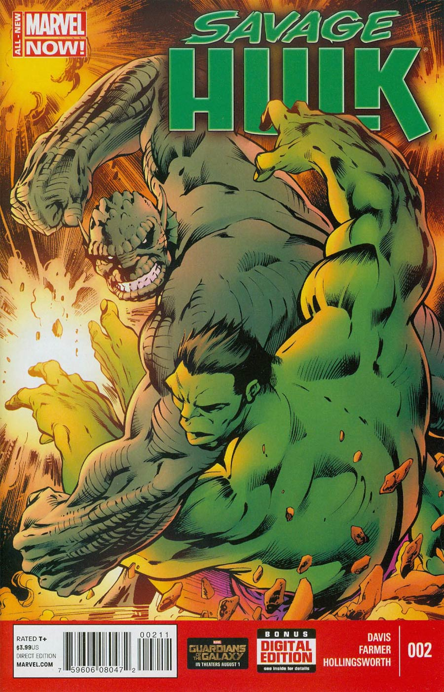 Savage Hulk #2 Cover A Regular Alan Davis Cover