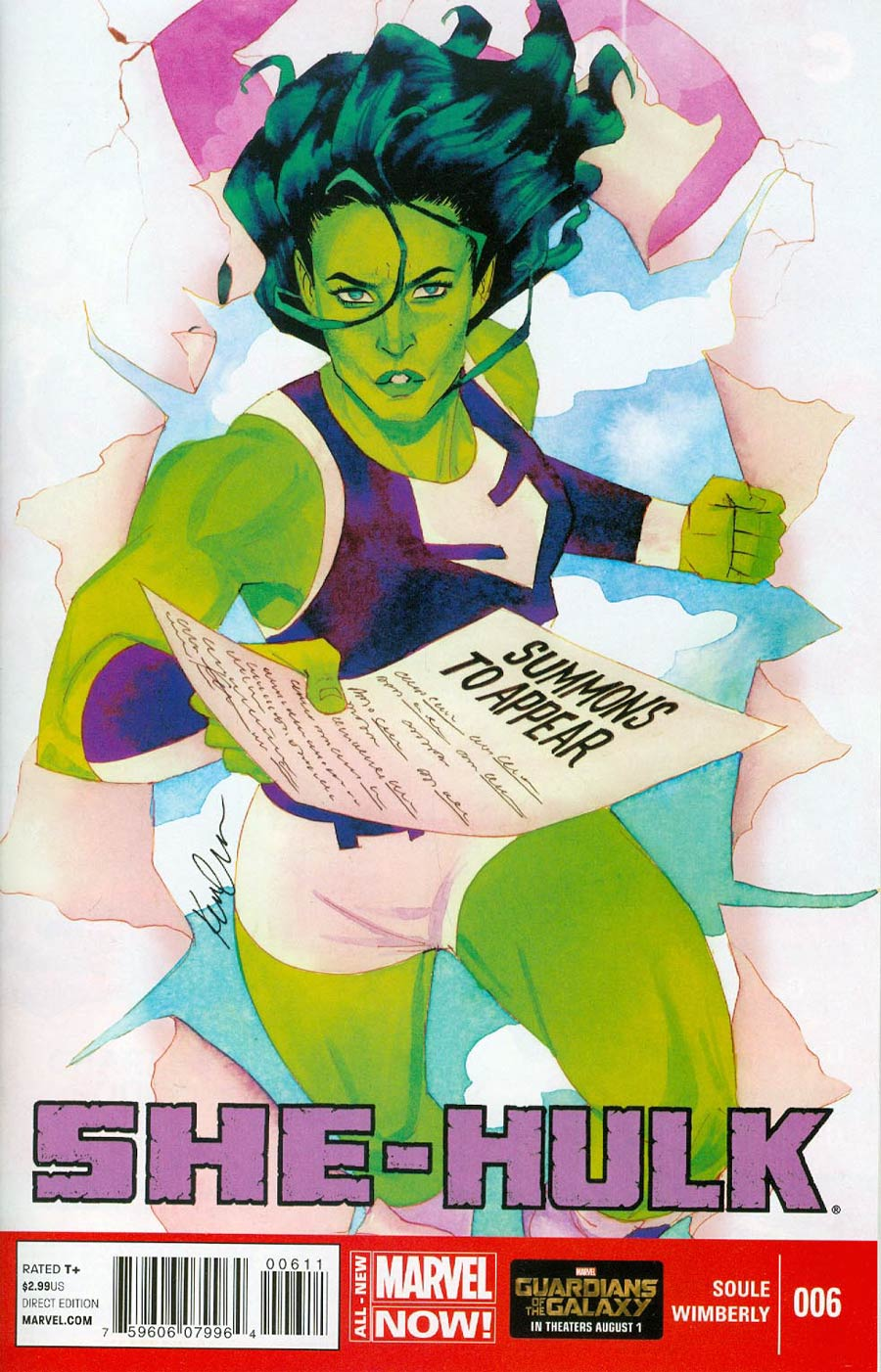 She-Hulk Vol 3 #6