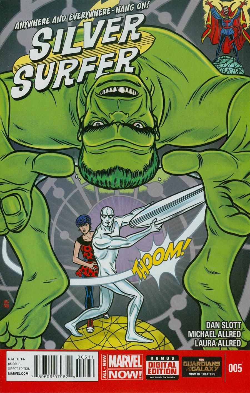 Silver Surfer Vol 6 #5 Cover A Regular Michael Allred Cover