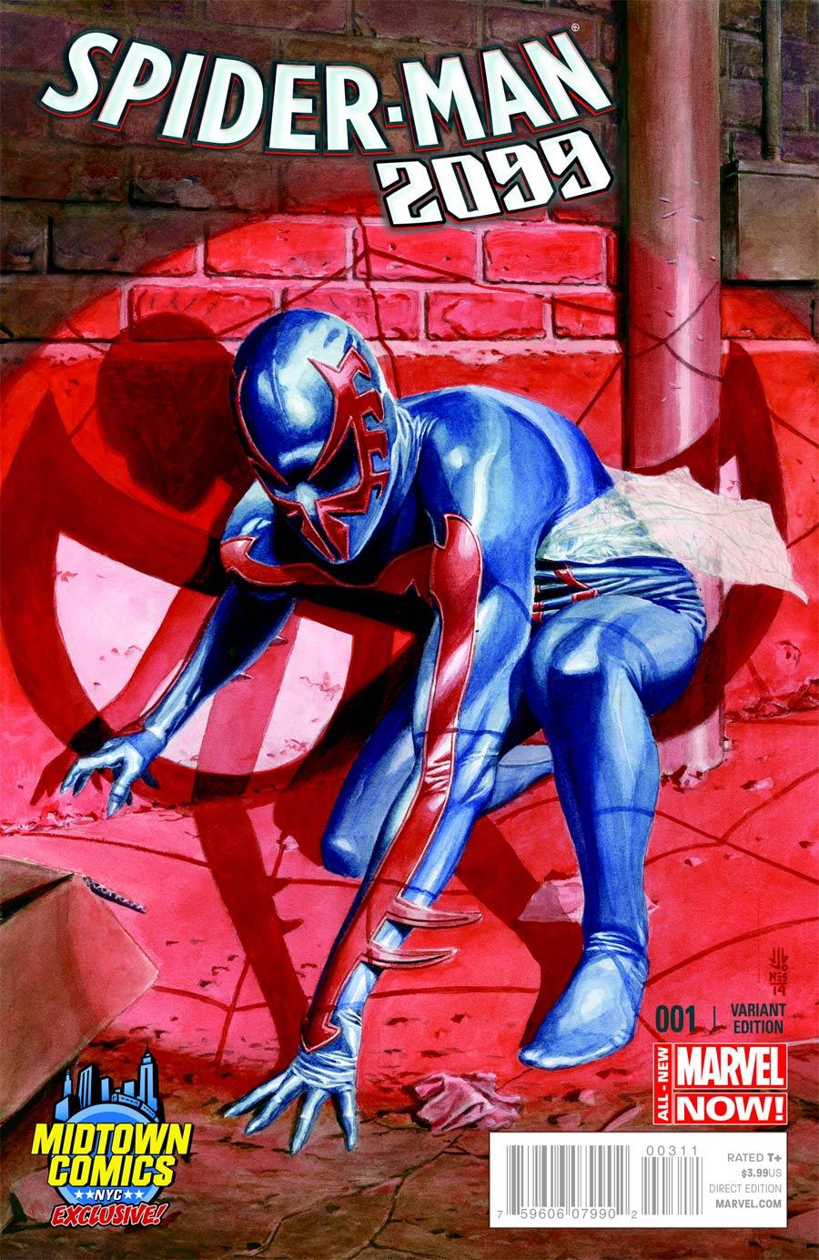 Spider-Man 2099 Vol 2 #1 Cover B Midtown Exclusive JG Jones Variant Cover
