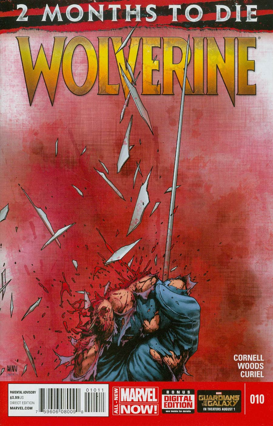Wolverine Vol 6 #10 Cover A 1st Ptg Regular Steve McNiven Cover (3 Months To Die Part 3)