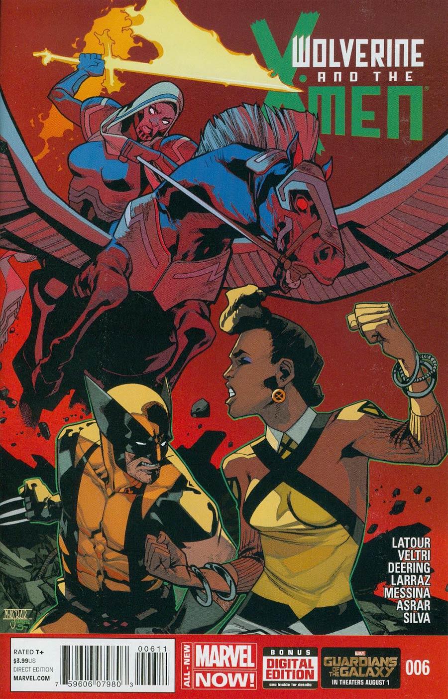Wolverine And The X-Men Vol 2 #6 Cover A Regular Mahmud Asrar Cover