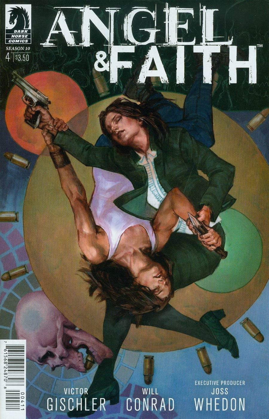 Angel And Faith Season 10 #4 Cover A Regular Scott Fischer Cover