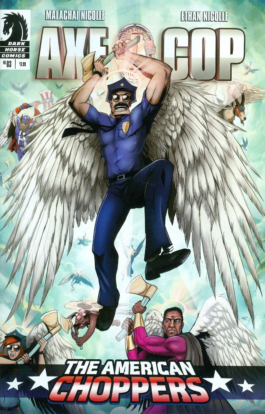 Axe Cop American Choppers #3