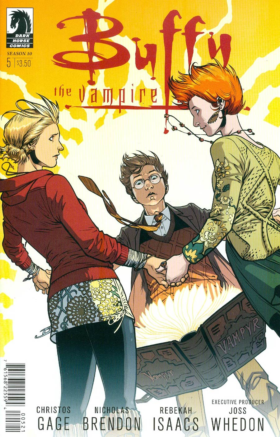 Buffy The Vampire Slayer Season 10 #5 Cover B Variant Rebekah Isaacs Cover