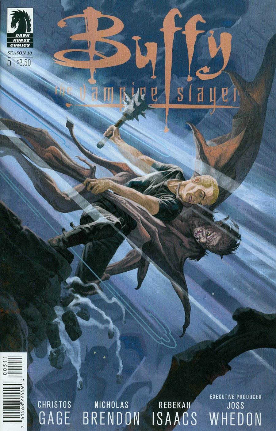 Buffy The Vampire Slayer Season 10 #5 Cover A Regular Steve Morris Cover