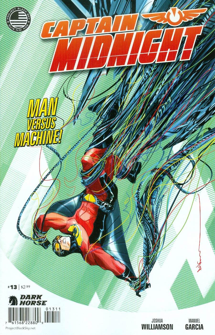 Captain Midnight Vol 2 #13
