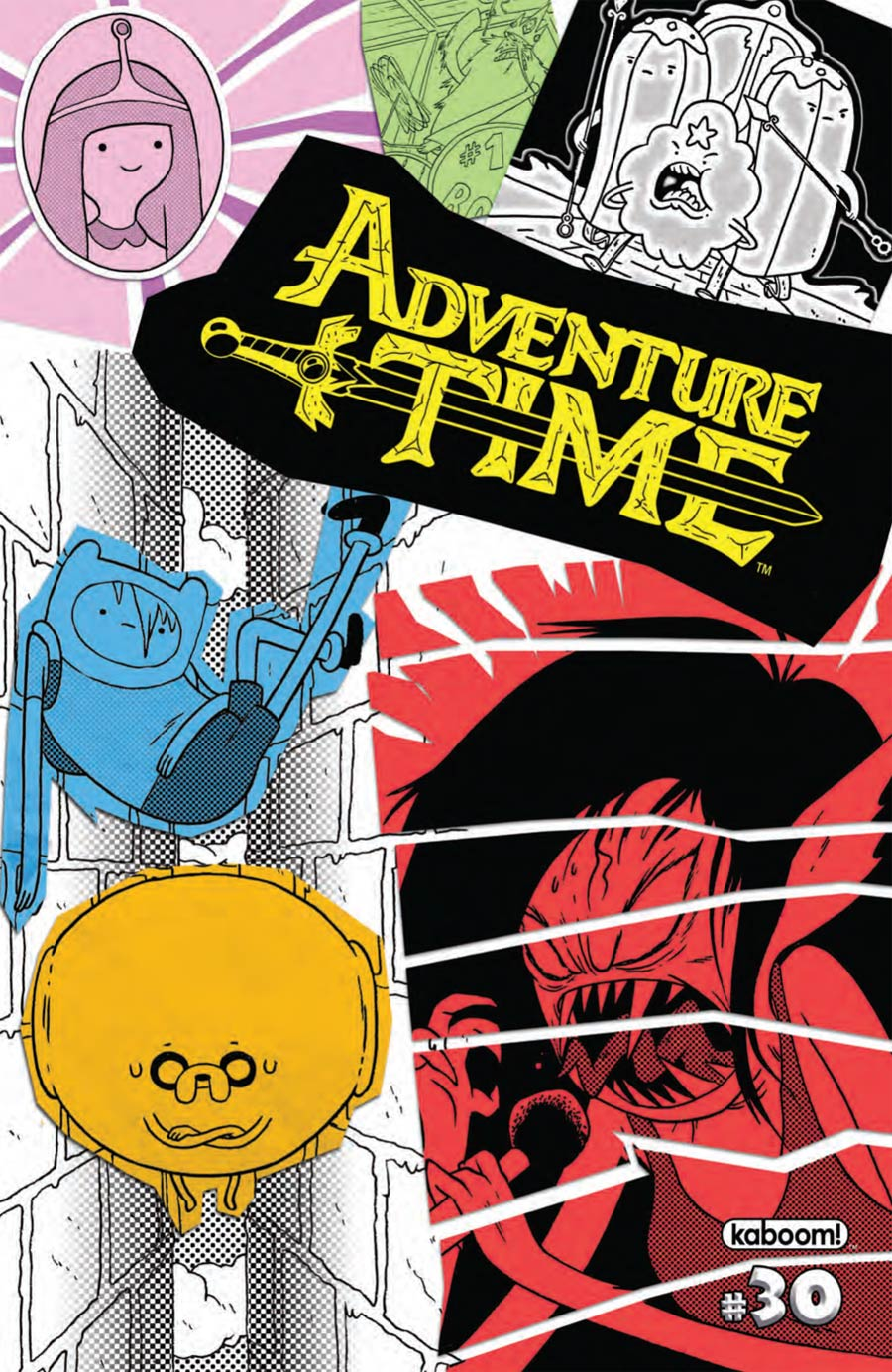Adventure Time #30 Cover A Regular Mike Holmes Cover