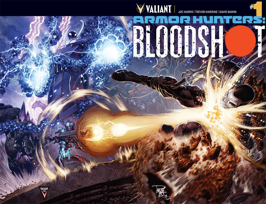 Armor Hunters Bloodshot #1 Cover A 1st Ptg Regular Philip Tan Cover