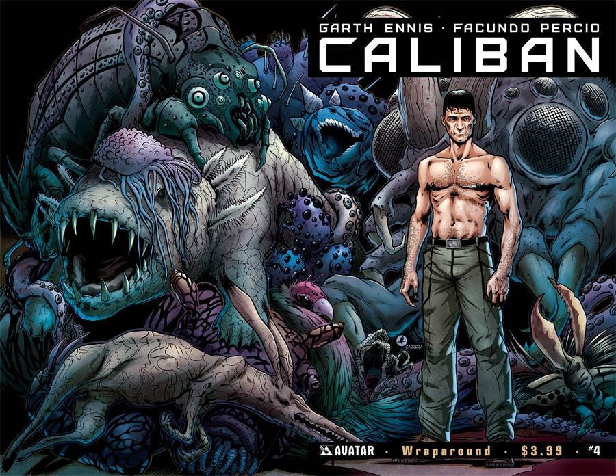 Caliban #4 Cover B Wraparound Cover