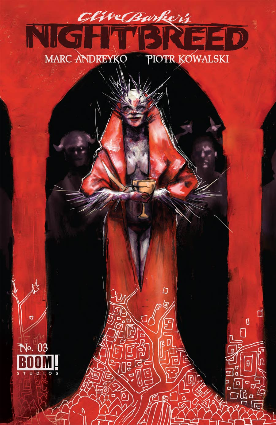 Clive Barkers Nightbreed Vol 2 #3 Cover A Regular Riley Rossmo Cover