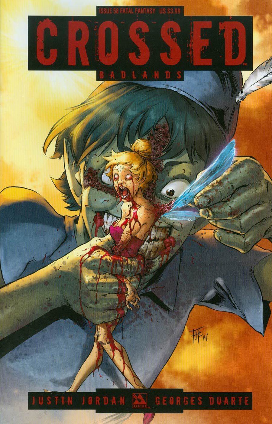 Crossed Badlands #58 Cover D Fatal Fantasy Cover