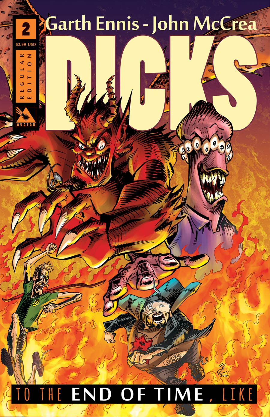 Dicks End Of Time #2 Cover A Regular Cover