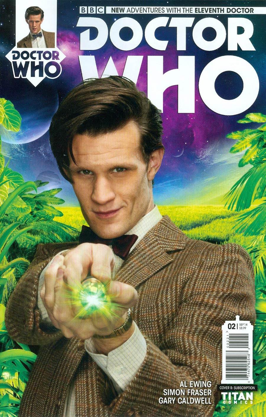 Doctor Who 11th Doctor #2 Cover B Variant Photo Subscription Cover