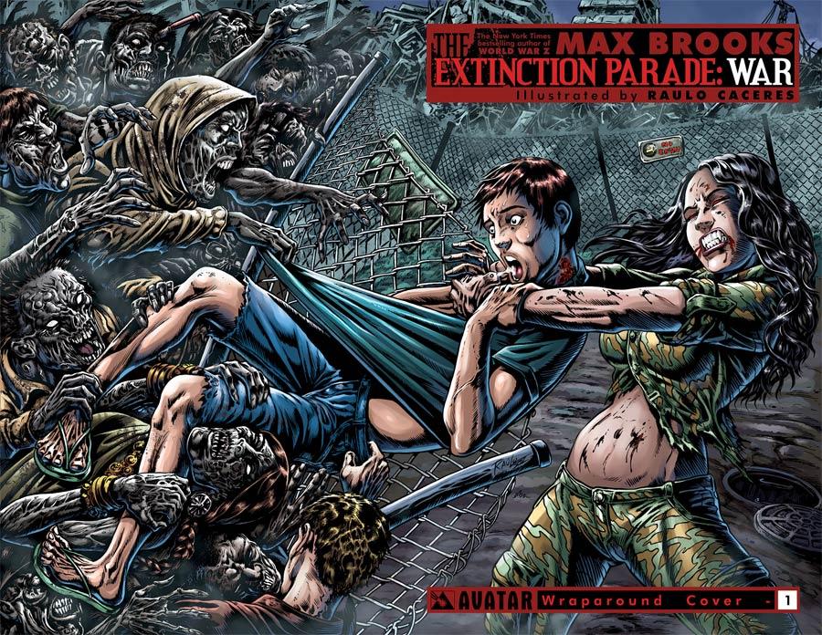 Extinction Parade War #1 Cover B Wraparound Cover
