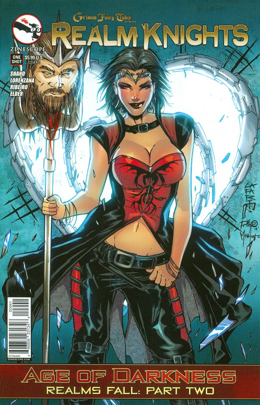 Grimm Fairy Tales Presents Realm Knights Age Of Darkness One Shot Cover D Giuseppe Cafaro