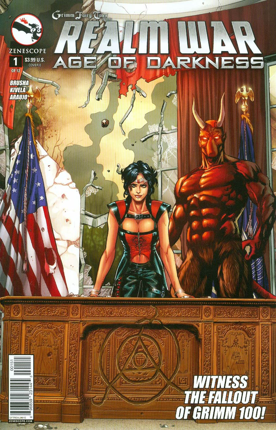 Grimm Fairy Tales Presents Realm War #1 Cover E Anthony Spay (Age Of Darkness Tie-In)