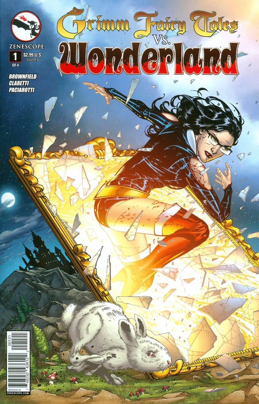 Grimm Fairy Tales vs Wonderland #1 Cover B Drew Edward Johnson